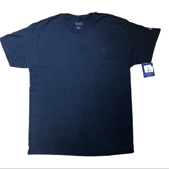Champion Short Sleeve Blue T-Shirt